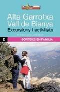 alta garrotxa: vall de bianya: excursions i activitats-m angels castillo-jordi bastart-9788496295858