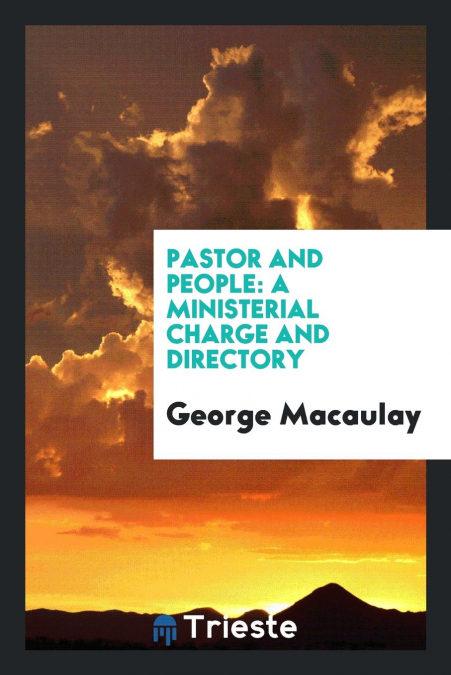 Descargar Pastor And People PDF Gratis