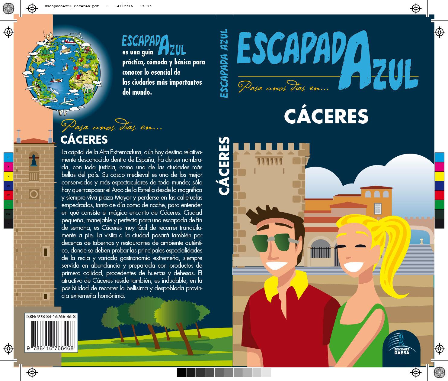caceres 2017 (3ª ed.) (escapada azul)-9788416766468
