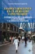 Las Declaraciones En El Derecho Comunitario: Estudio De Las Decla Raciones A Los Tratados Y Al Derecho Derivado por Carmen Martinez Capdevila epub