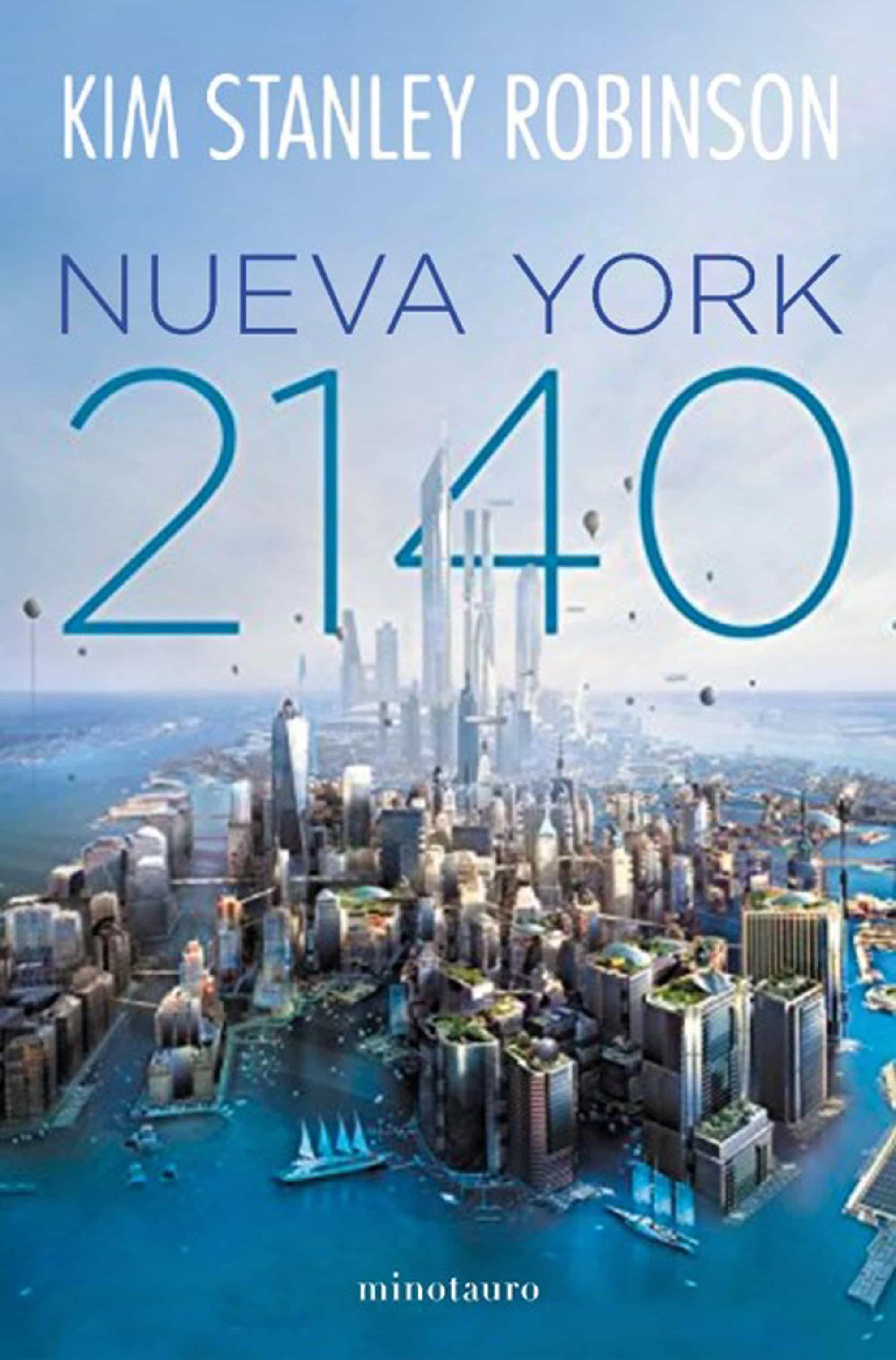 Resultado de imagen de Nueva York 2140 de Kim Stanley Robinson