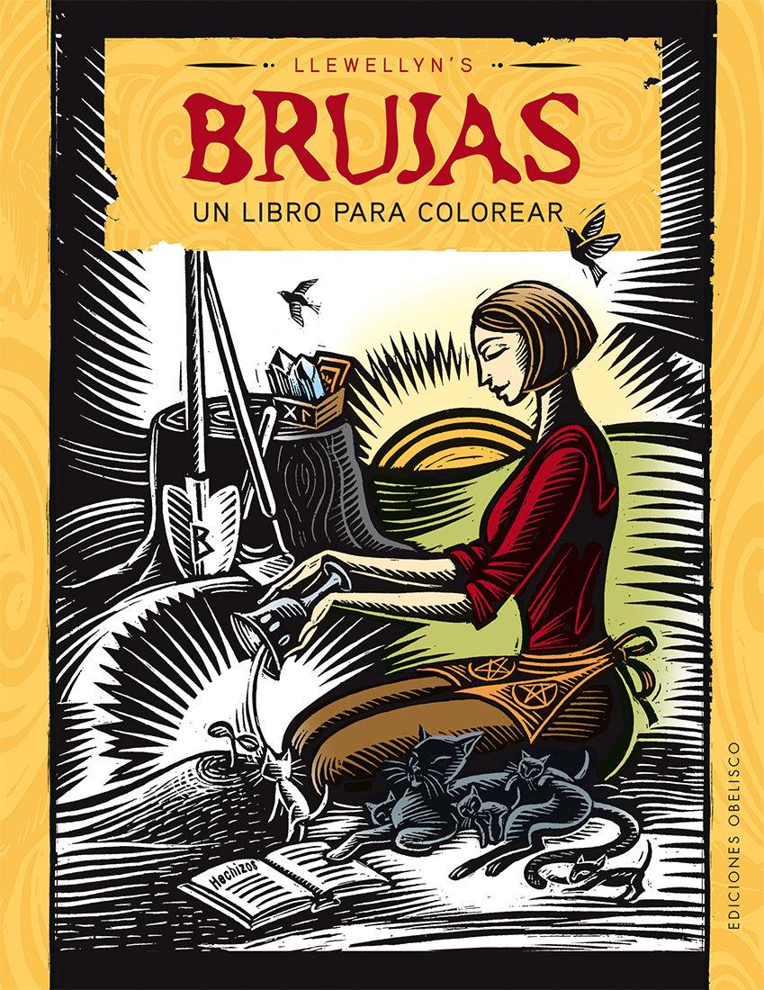 BRUJAS: UN LIBRO PARA COLOREAR | LLEWELLYN | Comprar libro 9788491111368