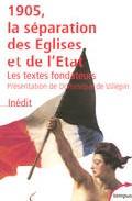 1905: La Separation Des Eglises Et De L Etat: Les Textes Fondateu Rs por Vv.aa. epub