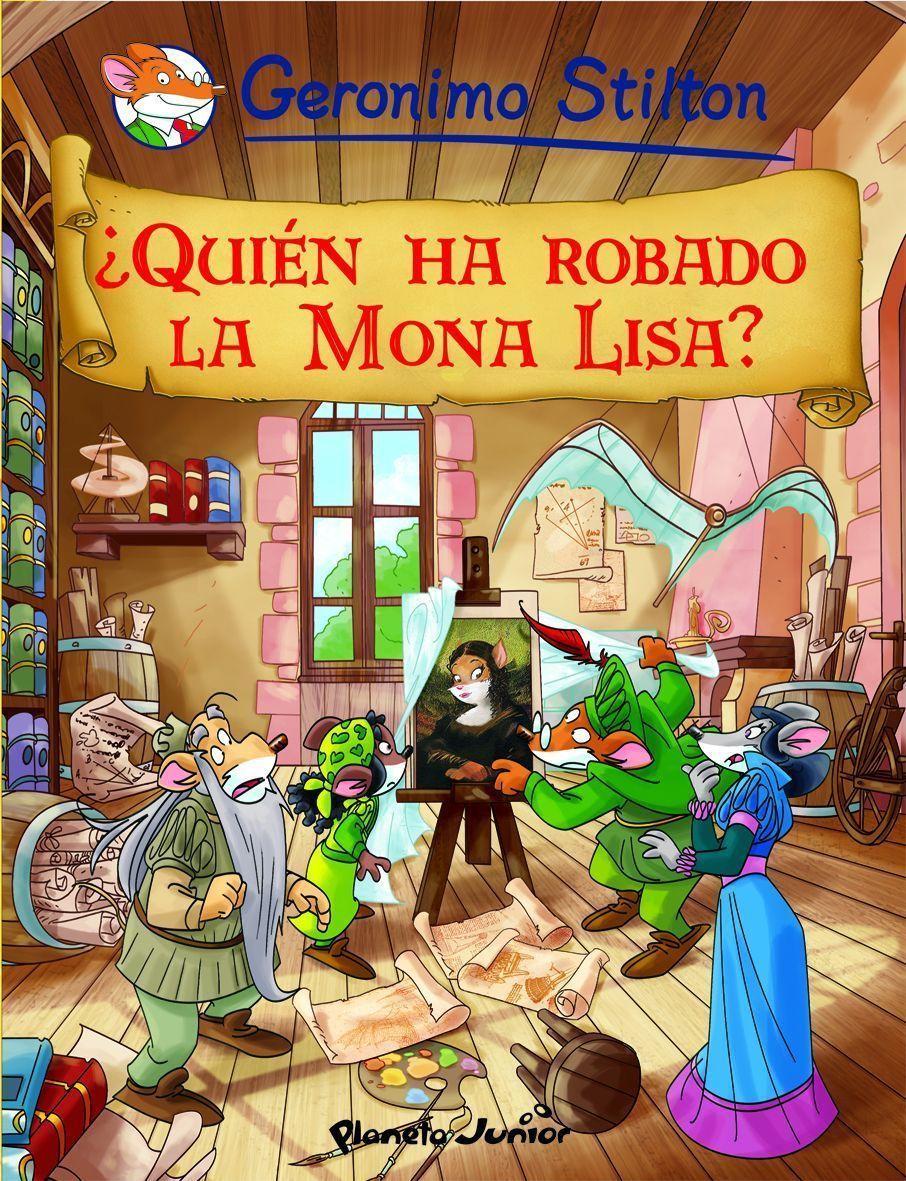 (pe) comic geronimo stilton 6: ¿quien ha robado la mona lisa?-9788408096078