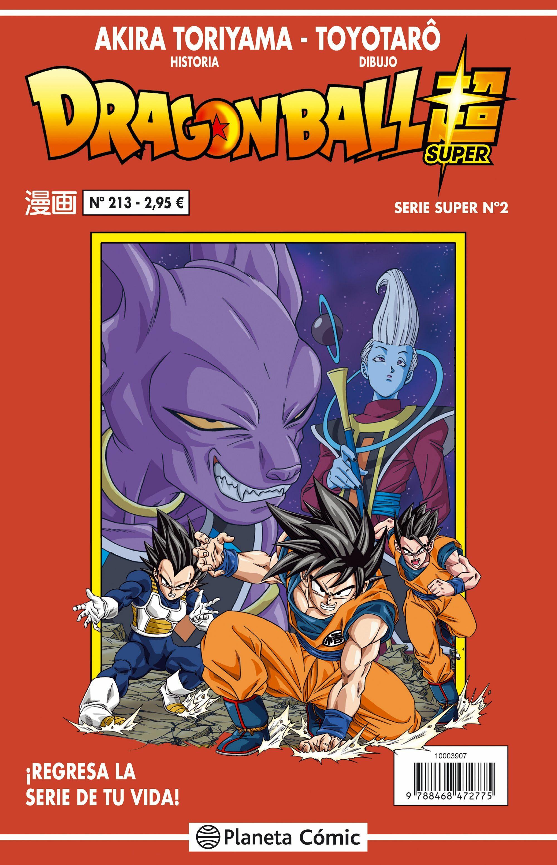 dragon ball serie roja nº213-akira toriyama-9788416889778