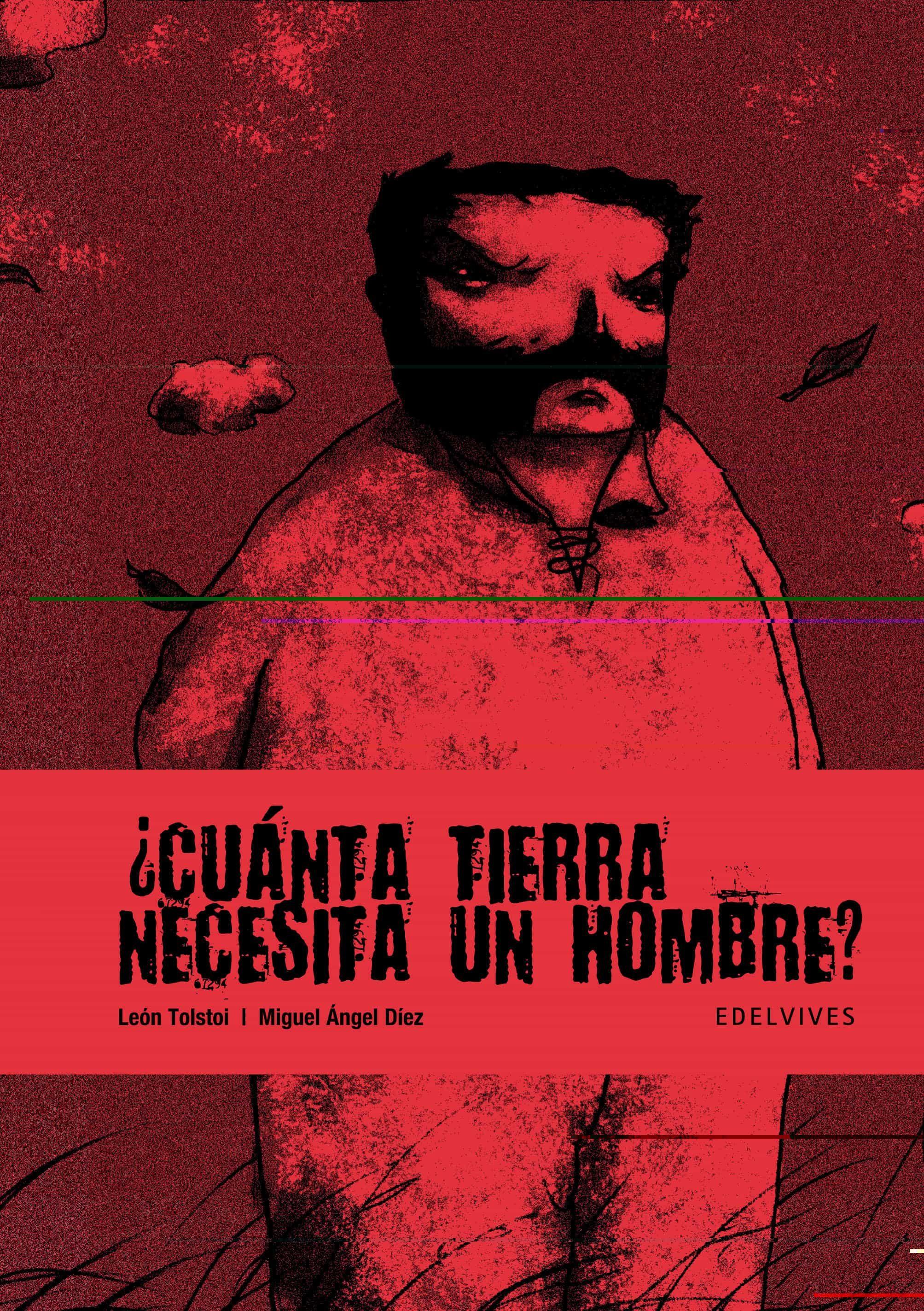 cuanta tierra necesita un hombre (novela grafica)-lev nicolaievich tolstoi-miguel angel diez-9788426373878