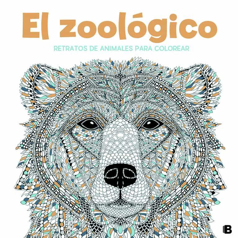 EL ZOOLÓGICO: RETRATOS DE ANIMALES PARA COLOREAR | VV.AA