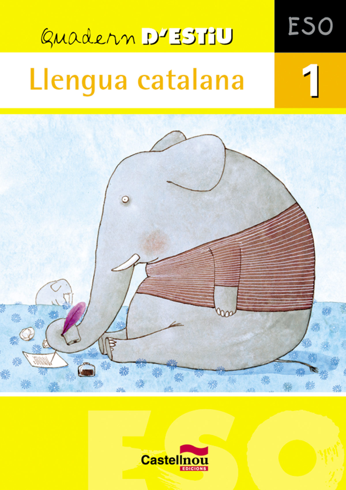 quadern estiu llengua catalana 1 eso-9788498043778