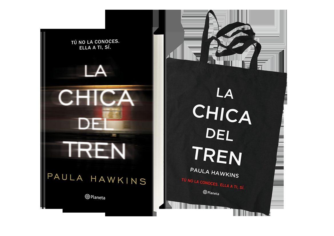 pack la chica del tren  (incluye: libro + bolsa de tela)-paula hawkins-9788408163688