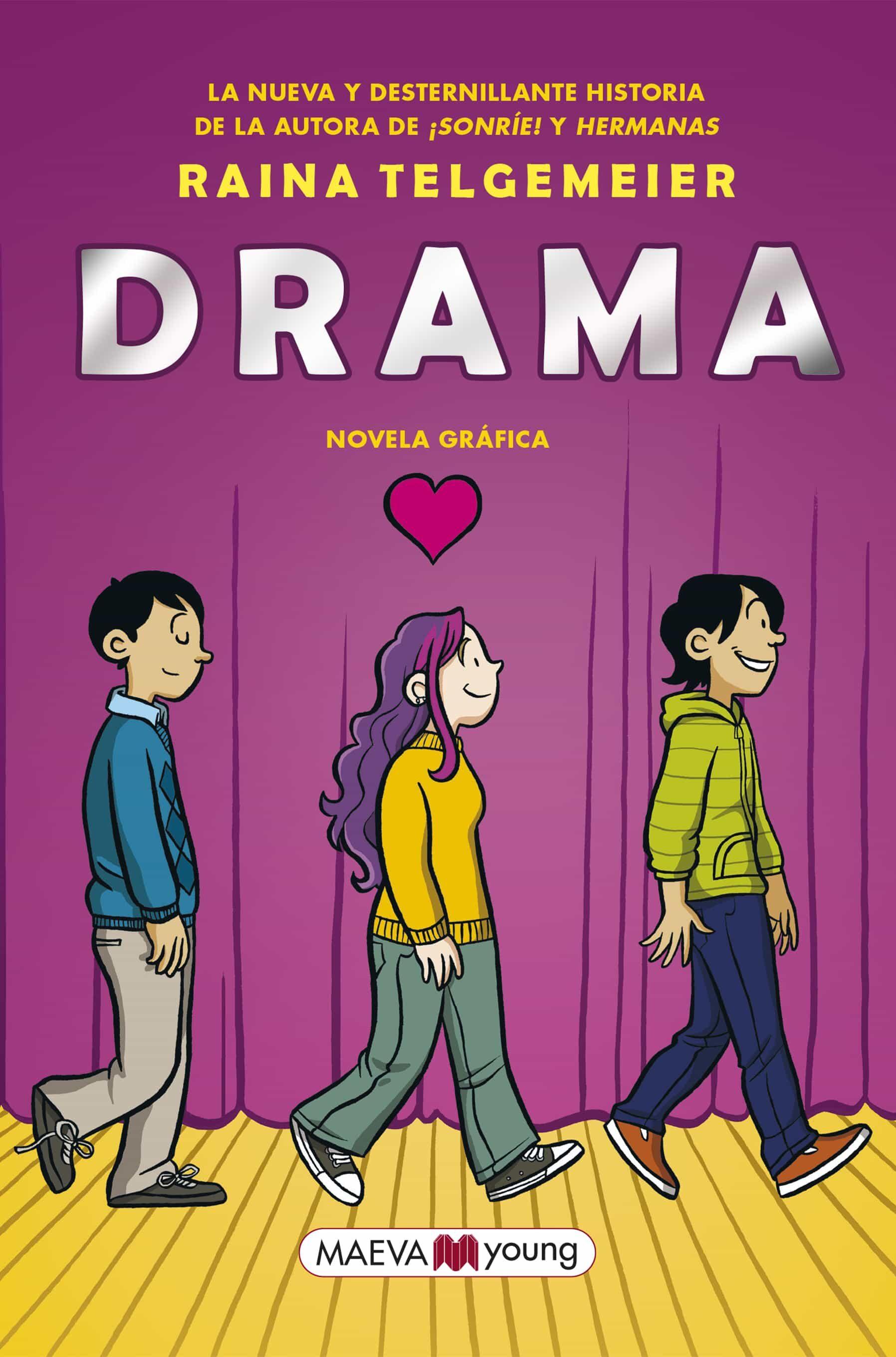 drama: novela grafica-raina telgemeier-9788417108588