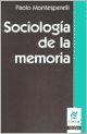 Sociologia De La Memoria por Paolo Montesperelli epub