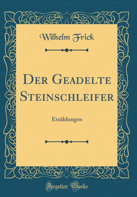 Epub gratis «Der Geadelte Steinschleifer»