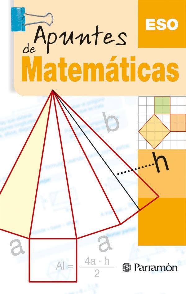 Apuntes De Matematicas. Eso por Vv.aa.