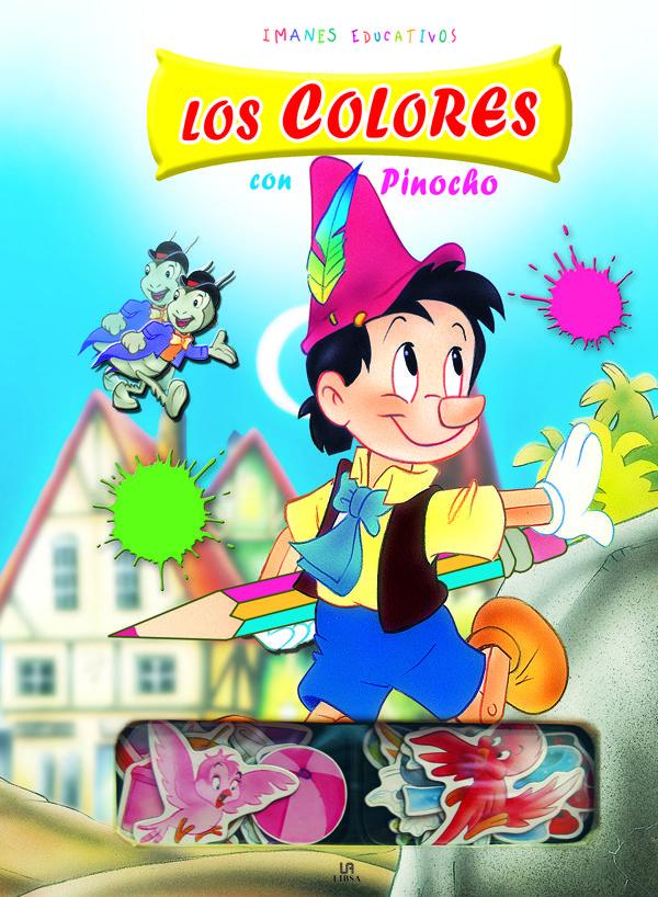 Imanes Educativos : Los Colores Con Pinocho por Vv.aa. epub