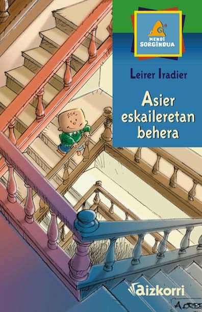 Asier eskaileretan behera