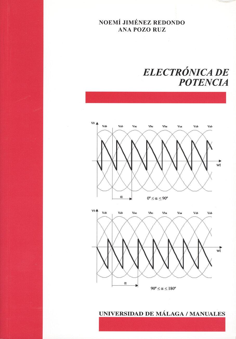 Electronica De Potencia por Noemi Jimenez Redondo;                                                                                                                                                                                                                                  epub