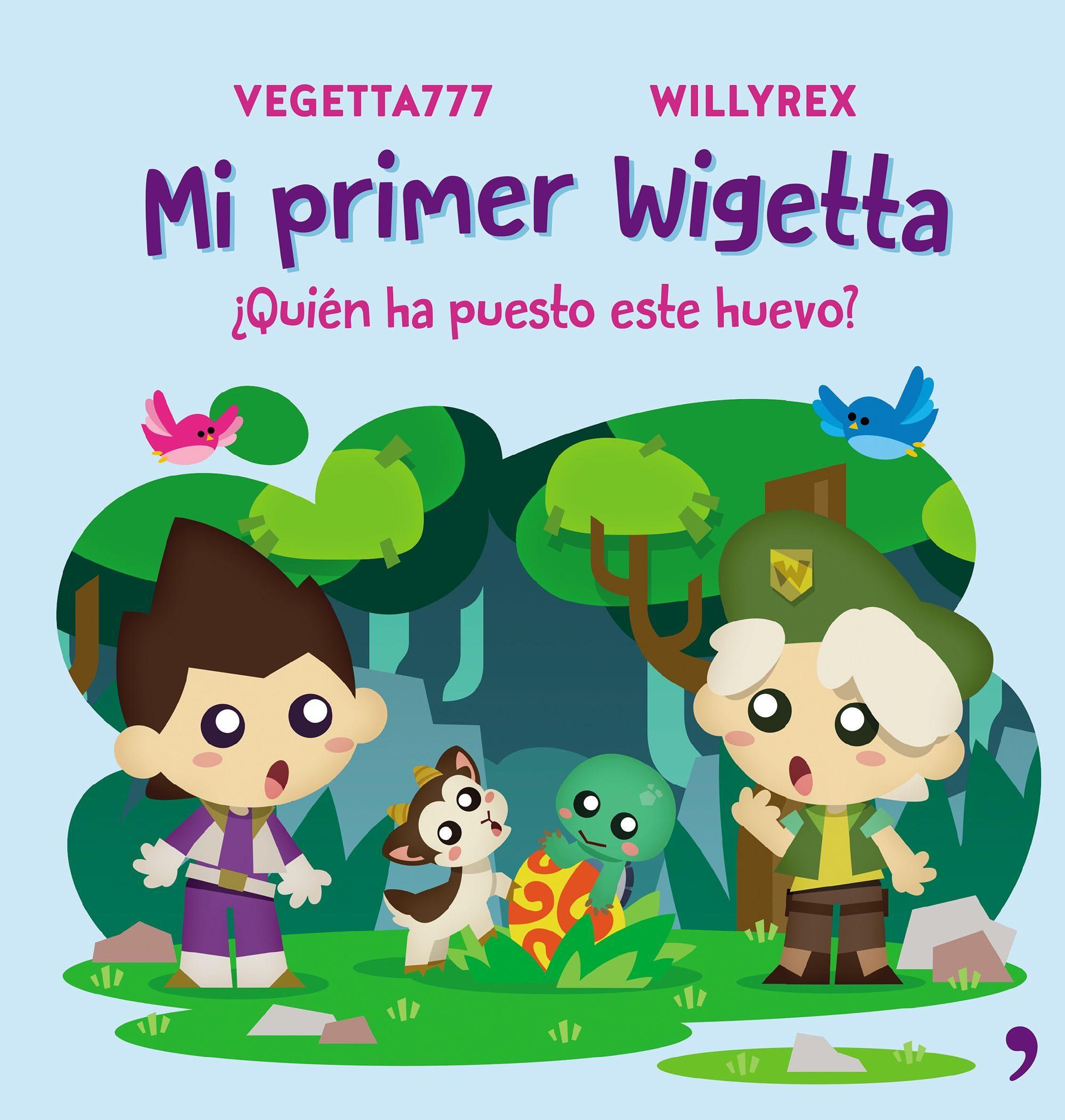 libros para ninos wigetta
