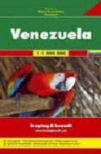 venezuela, mapa de carreteras (1:1000000) (freytag & berndt) 9783707909708