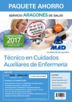 paquete ahorro técnico en cuidados auxiliares de enfermería del servicio aragonés de salud. (incluye temario común; temario 9788414205808