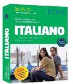 curso pons italiano. 2 libros + 4 cd + dvd (a1-a2)-9788416057108