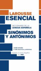 diccionario esencial de sinónimos y antónimos (3ª ed.)-9788416368808