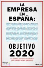 la empresa en españa: objetivo 2020-alejandro suarez sanchez-ocaña-9788423426508