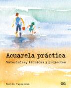 acuarela practica. materiales, tecnicas y proyectos-curtis tappenden-9788425229008