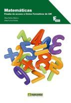 matematicas. prueba de acceso a ciclos formativos de grado medio elisa nuñez elisa rufino 9788426721808