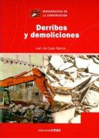 derribos y demoliciones juan de cusa 9788432930508