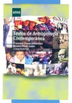 textos de antropología contemporánea (ebook)-francisco cruces villalobos-9788436262308
