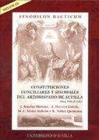 El libro de Constituciones conciliares y sinodales del arzobispado de sevilla (incluye cd) autor J. SÁNCHEZ HERRERO DOC!
