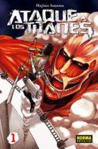 ataque a los titanes 01-hajime isayama-9788467909708