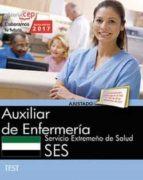 auxiliar de enfermeria: servicio extremeño de salud. test 9788468178608