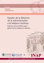 El libro de España: de la reforma de la administración a la mejora continua autor VV.AA. DOC!