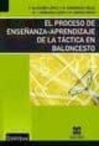 proceso de enseñanza aprendizaje de la tactica en baloncesto f. alarcon lopez 9788484258308