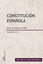 constitucion española (septiembre 2016)-9788490859308