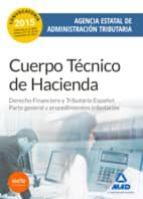 CUERPO TÉCNICO DE HACIENDA. AGENCIA ESTATAL DE ADMINISTRACIÓN TRIBUTARIA. DERECHO FINANCIERO Y TRIBUTARIO ESPAÑOL: PARTE