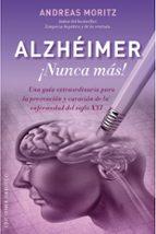 alzheimer ¡nunca mas!-andreas moritz-9788491111108