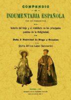 compendio de indumentaria española (facsimiles maxtor)-j. natividad de diego y gonzalez-9788497618908