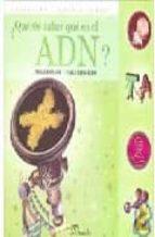 ¿quieres saber que es el adn? paula bombara 9789502313108