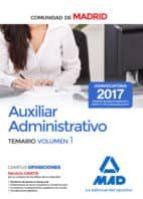 auxiliar administrativo de la comunidad de madrid. temario (vol. 1) 9788414209318