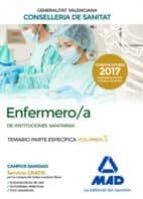 enfermero/a de instituciones sanitarias de la conselleria de sanitat de la generalitat valenciana: temario parte especifica   (vol. 3) 9788414212318