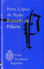 rimado de palacio-pero lopez de ayala-9788415472018