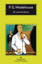 de acuerdo, jeeves (5ª ed.)-p.g. wodehouse-9788433920218