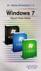windows 7 (guia practica) miguel pardo 9788441526518
