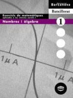 quadern exercicis nombres i algebra matematiques aplicades cienci es socials 1 batxillerat jose colera 9788448913618