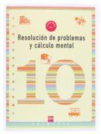 cuaderno de problemas y conocimiento mental 10 (4º educacion prim aria)-9788467500318
