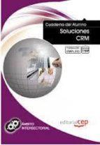 cuaderno del alumno soluciones crm. formacion para el empleo victor manuel rodriguez alvarez 9788468122618