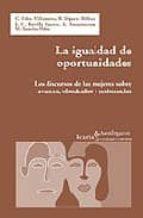 la igualdad de oportunidades-9788474266818