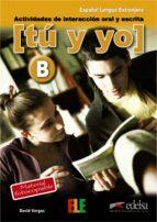 tu y yo (nivel nº2):actividades de interaccion oral y escrita-david vargas-9788477115618